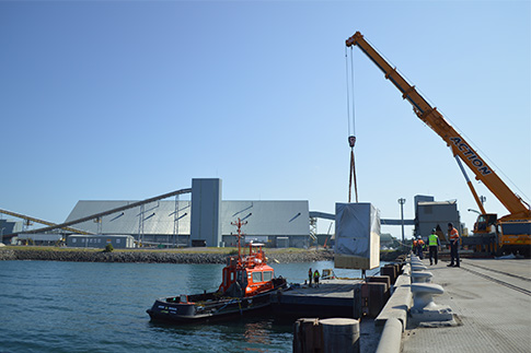 Final Components for two 1.9MW Emergency Generators Shipped to South Korea for World-Class Project