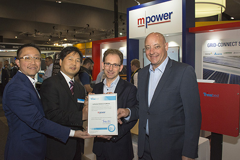 MPower Launches Battery Storage Product at All-Energy 2016