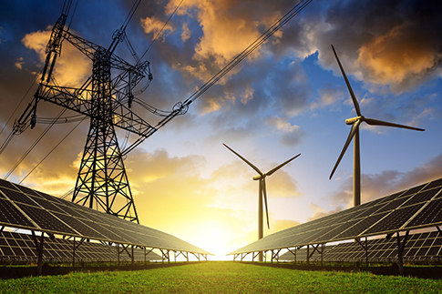 Easing energy supply problems with battery storage