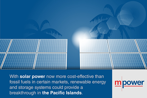 Funding renewable energy in the Pacific Islands