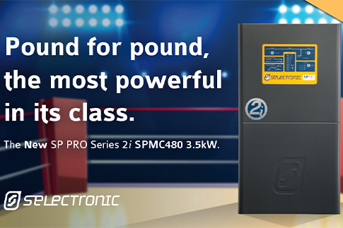 Selectronic adds new 3.5kW model to its industry leading SP PRO Series 2i inverter range